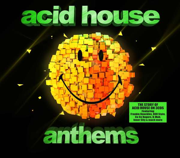 Hf news acid house anthems various artists for Acid house cd